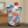 100 Paper Balls - 3 Mini Physics Games Catching Balls in Baskets balls