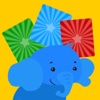 Matching Elephant - Early Learning Games For Toddler and Preschooler To Learn Numbers,Alphabet,Colors,Shapes,Basic Skills