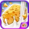 Käserei - backen Käse in diesem Koch Manie Spiel für Little Chef