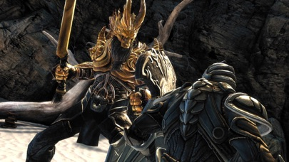 Screenshots of Infinity Blade for iPhone