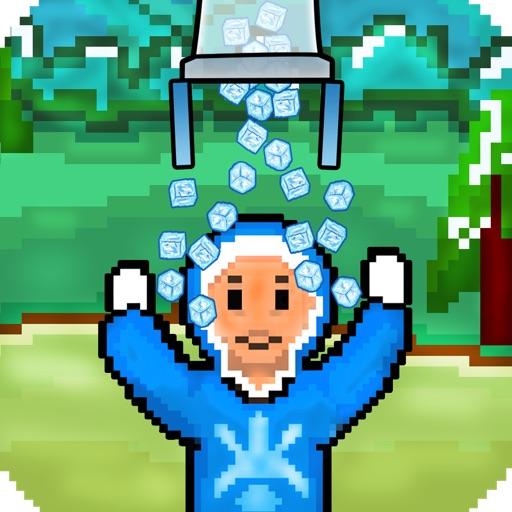 Ice Man In Ice Bucket Challenge iOS App