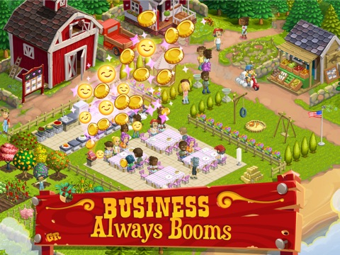 Screenshots of Gourmet Ranch: Farm, Cook and Serve for iPad