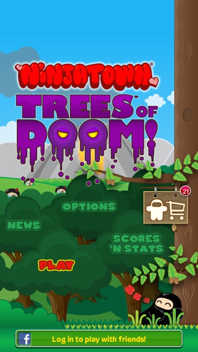 Ninjatown: Trees Of Doom! Screenshot