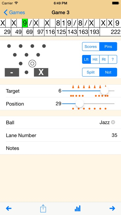 12 Strikes - Bowling Score Tracker iPhone