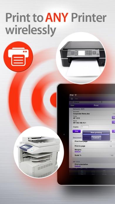 print to pdf iphone 5