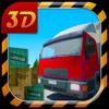 3D simulatore di camion Cargo - parcheggio reale e gioco di simulazione di camionista