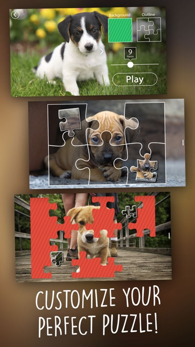 Jigsaw Wonder Puppies Puzzles for Kids Screenshot