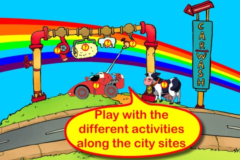 Wheels on the bus app screenshot 4