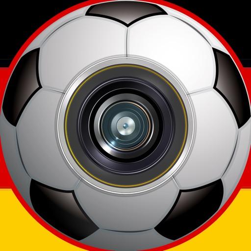Fan Football – Soccer Photo Stickers Germany Bundesliga edition iOS App