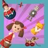 動畫兒童遊戲對於嬰幼兒:打在苗圃