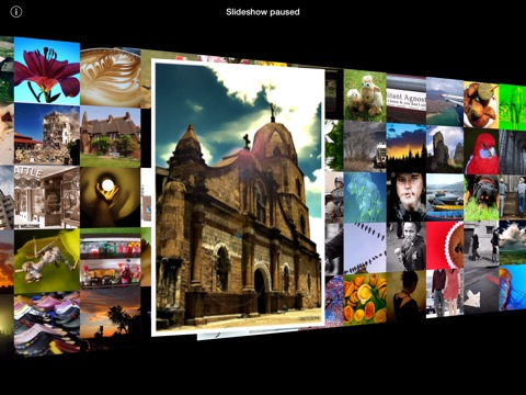 3D Photo Ring HD - Gorgeous Carousel-Based Picture Browser With Color Sorting Screenshot