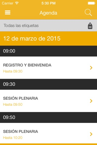 SAP Forum España 2015 screenshot 2