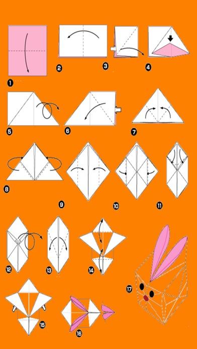 Paper Origami Instructions - Origami Art screenshot three