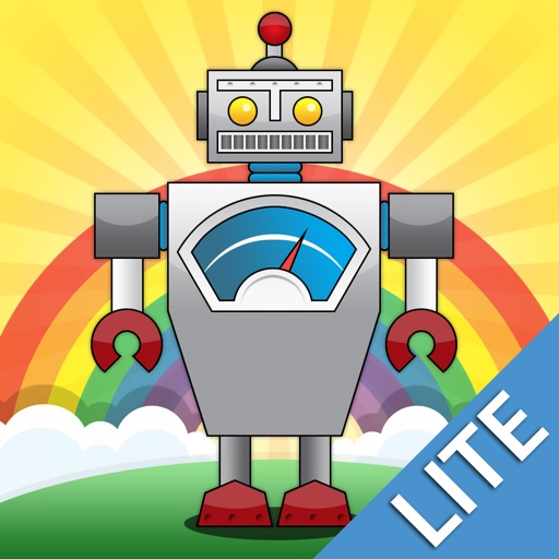 Robots Lite: Videos & Games for Kids by Playrific iOS App