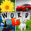 Quad Pic Guess the Word Quiz- Best Brain Teaser Practice Game