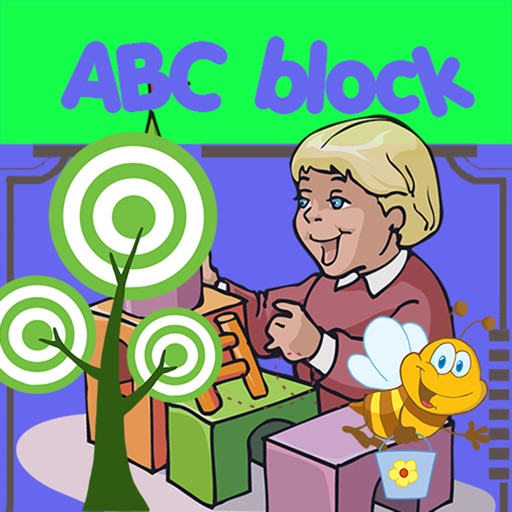 Slide the ABC Block Scrolling block the bee : unblock bee for kids & me iOS App