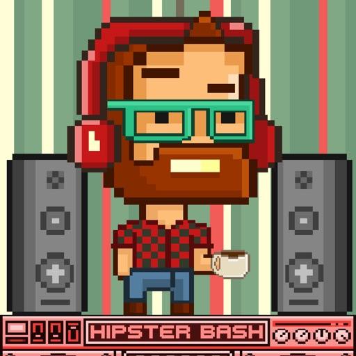 Hipster Bash FREE GAME - Funny Quick 8-bit Retro Pixel Art ...