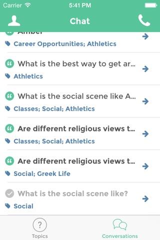 StudentVox screenshot 1