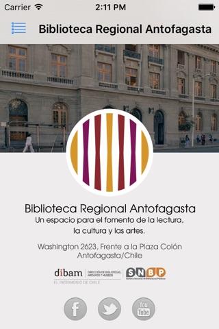 Biblioteca Regional Antofagasta screenshot 1