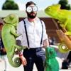 Reptile Chameleon Fun - Photo Editor & FX Editor & Frame Maker FREE