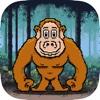 Jump Chimps - A Fun free addictive dodge rocks jumping game experience