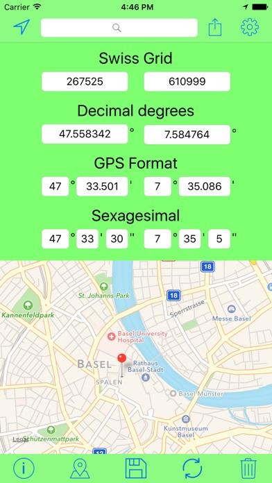 download Swiss Grid Coordinates Tool apps 3