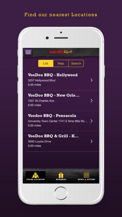 Voodoo BBQ & Grill iPhone