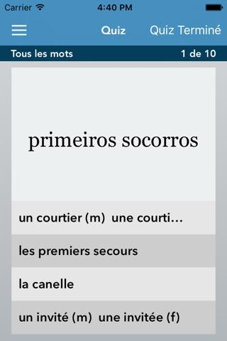 Portuguese | French - AccelaStudy® screenshot 3