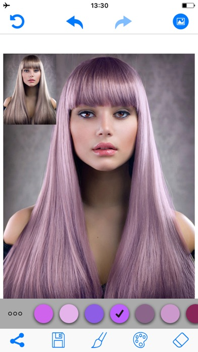 Hair Color Changer Salon Booth On The App Store - Hair colour editor download