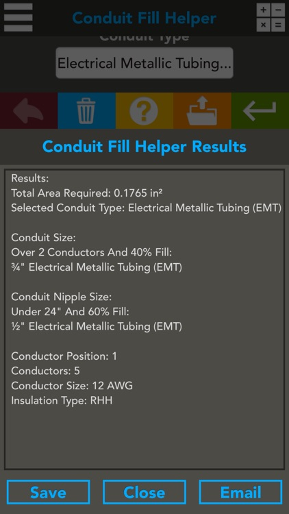 New southwire Conduit Fill Calculator