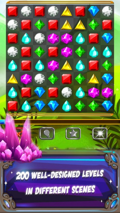 Game Jewels Match 3 Screenshot