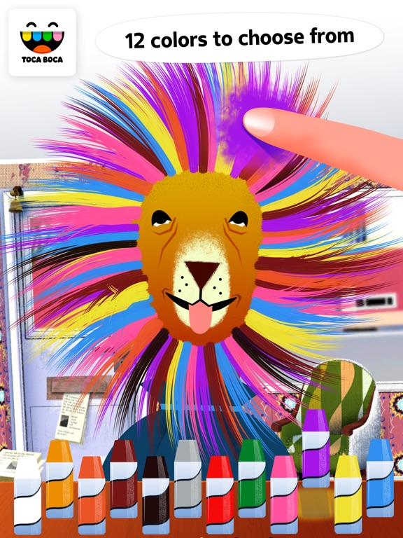 Screenshot #4 for Toca Hair Salon