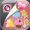 Cute Stickers Photo Editor Pro  – Get Fun Camera Booth With Special Effects, Filters and Pretty Stamps For Girls