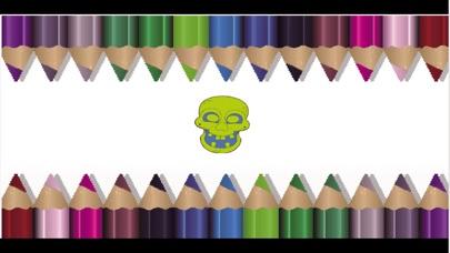 Screenshot of Maschere coloring book - Giochi di Halloween Learning libro da colorare per i bambini1