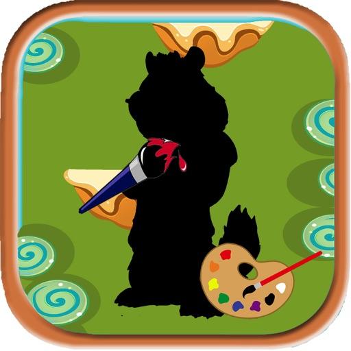 Color Book Game Chimpmunks Cartoon Edition iOS App