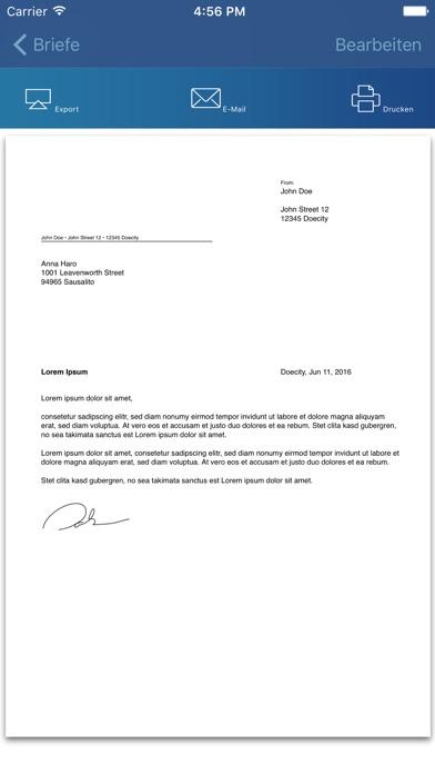 """Briefe Schreiben Im Internet : """"briefe schreiben"""" im app store"""