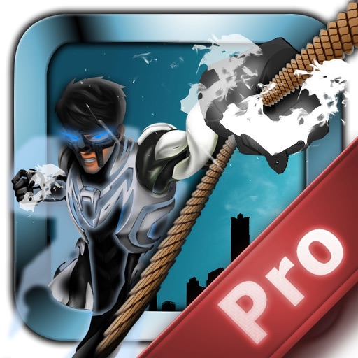 Metal Man Rope Pro - Jump and Fly to Save the City Streets iOS App