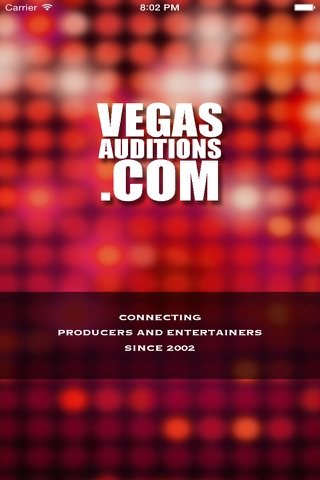 Vegas Auditions - Las Vegas entertainment jobs & casting notices screenshot 1