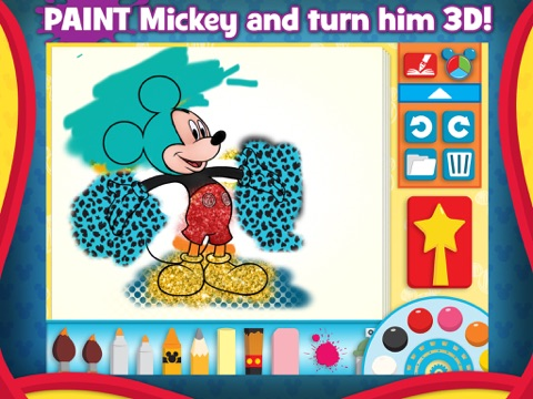 Screenshot #2 for Mickey Mouse Clubhouse - Color & Play