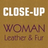 Close-Up Woman Leather & Fur