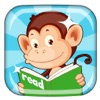 Monkey Junior: kids learn to read English, French, Spanish, Vietnamese, Chinese