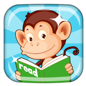 Monkey Junior: kids learn to read English, French, Spanish, Vietnamese, Chinese icon