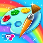Paint Sparkles Draw - My First Coloring Book HD! icon