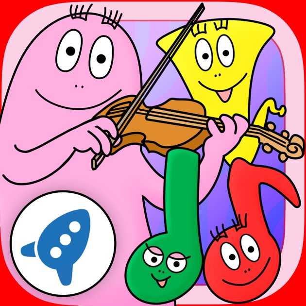 Barbapapa et les instruments de musique dans l app store - Ordinateur barbapapa ...