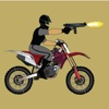 Motor Cycle Shooter - go forward firing bullets icon