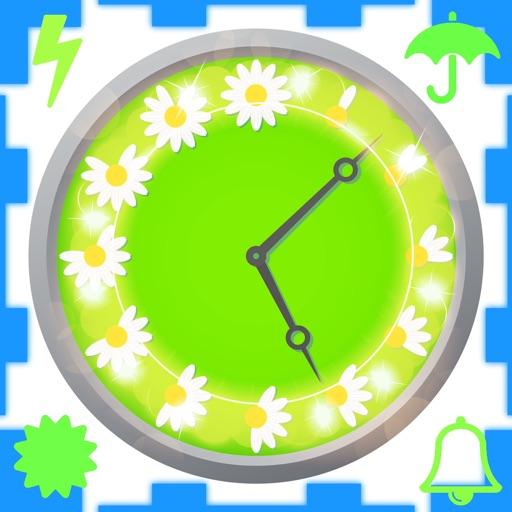 Часы и местного прогноза погоды-Free