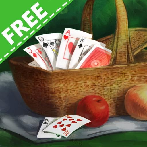 Solitaire Victorian Picnic Free iOS App
