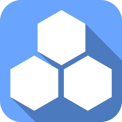 Line Hexagon iOS App