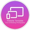 Website Template (Tour & Wedding Photography) With Html Files Pack5 2003 access templates