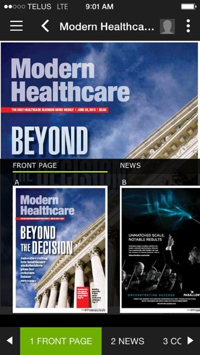 Modern Healthcare Magazine Healthcare Business News review screenshots